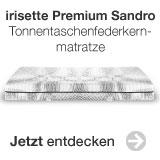 irisette premium sandro, Tonnentaschenfederkern