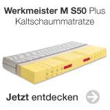 Werkmeister Kaltschaummatratze M S50 Plus