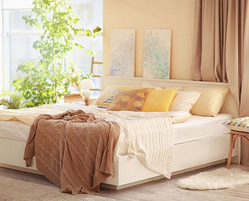 welches bett bei ein schttet das bett auf es ist einfacher bettbezge als laken straff diy ikea. Black Bedroom Furniture Sets. Home Design Ideas