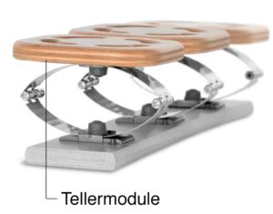 Ausbau des Tellermoduls