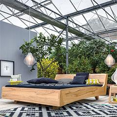 massivholzbett von dormeinte