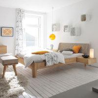 Hasena Oak-Bianco Massivholzbett Modul 18 Xylo Gabo