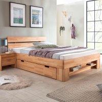 Woodlive Massivholzbett Easy