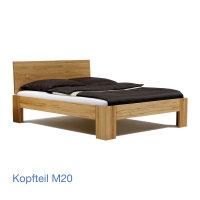 MM Collection Massivholzbett M20
