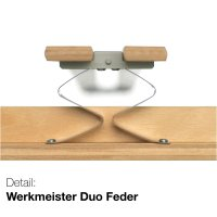 Werkmeister U 320 Duo N XL Lattenrost