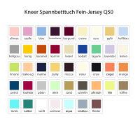 Kneer Spannbetttuch Fein-Jersey Q50