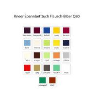Kneer Spannbetttuch Flausch-Biber Q80
