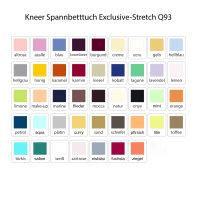 Kneer Spannbetttuch Exclusive-Stretch Q93