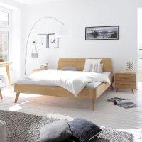 Hasena Oak-Bianco Massivholzbett Modul 18 Masito Edda