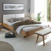Hasena Oak-Bianco Massivholzbett Modul 18 Airo Cemoa