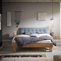 Hasena Oak-Vintage Massivholzbett Cadro 18 Ivio Ronna