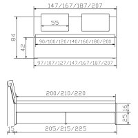 Hasena Function and Comfort Massivholzbett Spazio Varus