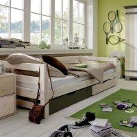 INFANSKIDS Einzelbett mit Schubkästen