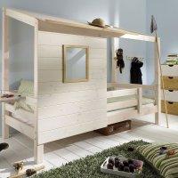 INFANSKIDS Einzelbett mit Hüttendach